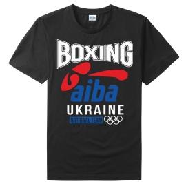 T-Shirt LEADER BOXING AIBA black