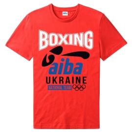 Футболка LEADER БОКС AIBA красная