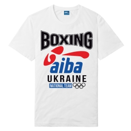 Футболка LEADER БОКС AIBA белая