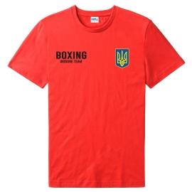 Футболка LEADER БОКС красная