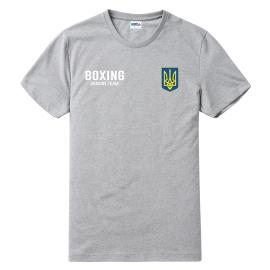 Футболка LEADER БОКС меланж