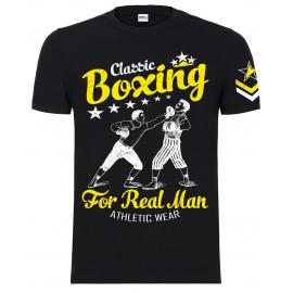 """Футболка LEADER """"Old School Boxing"""" чёрный"""