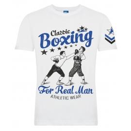 "Футболка LEADER ""Old School Boxing"" white"