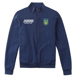 Олимпийка LEADER ДЗЮДО тёмно-синий