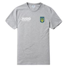Футболка LEADER ДЗЮДО меланж