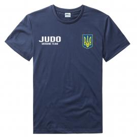 Футболка LEADER ДЗЮДО синяя