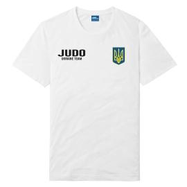 Футболка LEADER ДЗЮДО белая