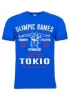 """Футболка LEADE """"OLIMPIC GAMES Tokio 2020"""" электрик"""