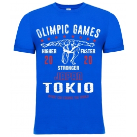 "T-Shirt LEADER ""OLIMPIC GAMES Tokio 2020"" electric"