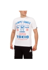 """Футболка LEADE """"OLIMPIC GAMES Tokio 2020"""" белая"""