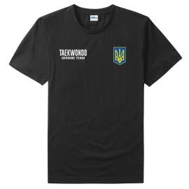 Футболка LEADER ТХЭКВОНДО чёрная