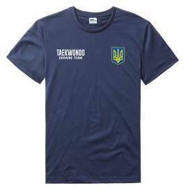 Футболка LEADER ТХЭКВОНДО синяя