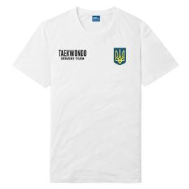 Футболка LEADER ТХЭКВОНДО белая