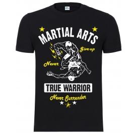 """Футболка LEADER """"True Warrior"""" чёрная"""