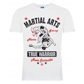 "Футболка LEADER ""True Warrior"" белая"